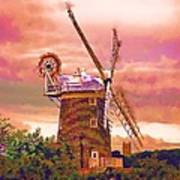 Cley Windmill 2 Poster