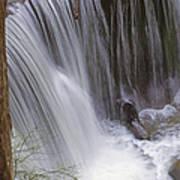 Cliff Falls In Maple Ridge Poster