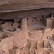 Cliff Palace At Mesa Verde Poster