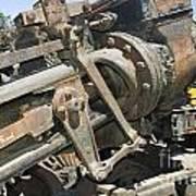 Climax Locomotive Poster