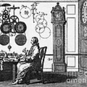 Clockmaker Poster by Science Source
