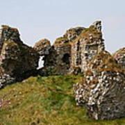Clonmacnoise Castle Ruin - Ireland Poster