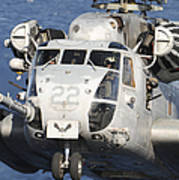 Close-up Of A Ch-53 Sea Stallion Poster
