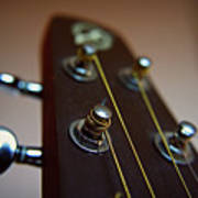 Close-up Of Guitar Poster by Image by Maistora (Vladimir Dimitroff)
