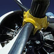 Closeup Of A Military Grumman Tracker Poster