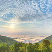 Cloud Sea Poster