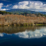 Clouds On The Klamath River Poster