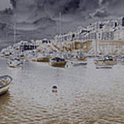 Clouds Over Brixham Poster