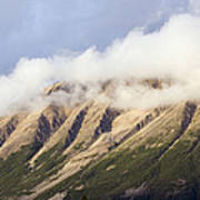 Clouds Over Porphyry Mountain Poster