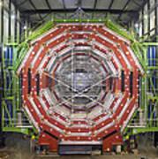 Cms Detector, Cern Poster by David Parker