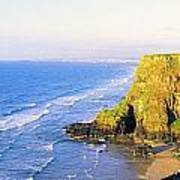 Co Derry, Ireland View Of Cliffs And Poster
