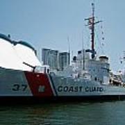 Coast Guard History  Poster