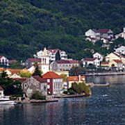 Coastal Town Of Montenegro Poster