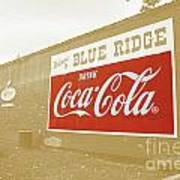 Coca-cola Sepia Poster