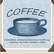 Coffee 1 Scrapbook Poster