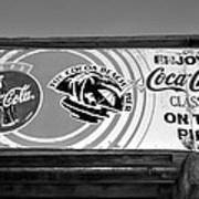 Coke At The Pier Poster