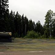 Cold War Hiway Fuel Dump Poster