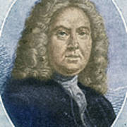 Colley Cibber, English Poet Laureate Poster