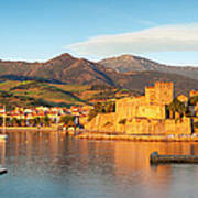 Collioure At Dawn Poster