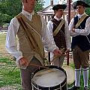 Colonial Drummer Poster