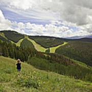 Colorado Mountain Freedom Poster