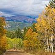Colorado Rocky Mountain Autumn Scenic Drive Poster