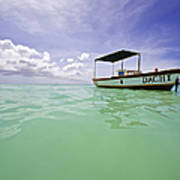 Colorful Fishing Boat Of The Caribbean  Poster