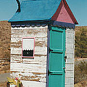 Colorful Outhouse Poster