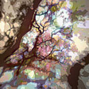 Colorful Tree Poster