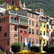 Colorful Vernazza Poster