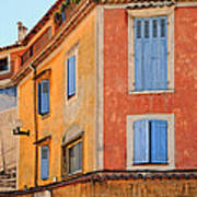 Colors In Provence Poster