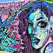Colors Of Graffiti Poster