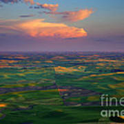 Colors Of The Palouse Poster