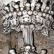 Column From Human Bones And Sku Poster