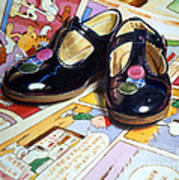 Comic Shoes Poster