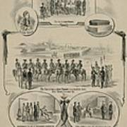 Commemorative Print Depicting The Trial Poster by Everett