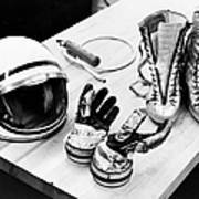 Components Of The Mercury Spacesuit Poster