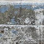 Concrete Blue 1 Poster