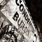 Condemned Building Poster