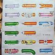 Condom Compendium Sign Thailand Poster