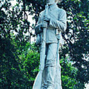 Confederate Soldier Memorial Poster