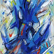 Contemporary Painting Six Poster
