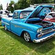 Cool Blues Classic Truck Poster