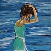Cool Ocean Breeze Poster