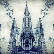 Cordoba Church Argentina Poster