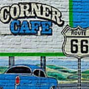 Corner Cafe Poster