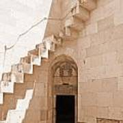 Corner Stairs Poster