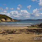Cornish Seascape Maenporth Poster