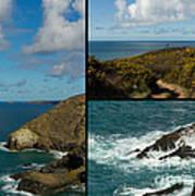 Cornwall North Coast Poster by Brian Roscorla