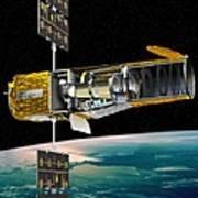 Corot Satellite, Artwork Poster